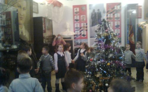 Новогодний блюз в Богородском музее.